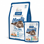 Сухой корм для кошек живущих в помещении BRIT CARE CAT MONTY INDOR